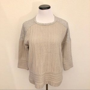 Lucky Brand | 3/4 sleeve super soft & cozy top